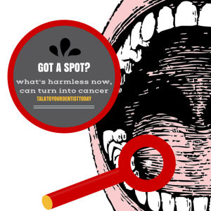 Oral Cancer - spot